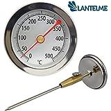 Termometro per forno, forno a legna, forno per pizza / Analogico / 500 °C