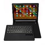 Mondpalast@ Nero Custodia Protettiva con Tastiera QWERTY Bluetooth per Lenovo Yoga Tab 3 Plus 10 LENOVO YOGA TAB 3 PLUS 10.1