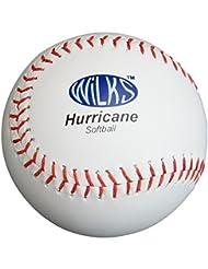 Nueva formación Aresson huracán Durable cuero pelota para Softball
