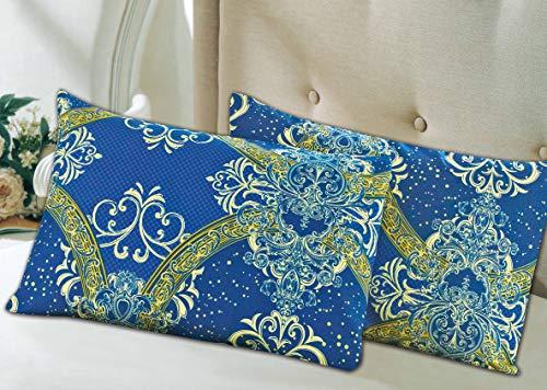 Tache 2Stück Star Gazing blau luxuriösen Fancy Kissenbezüge Kissenbezüge -