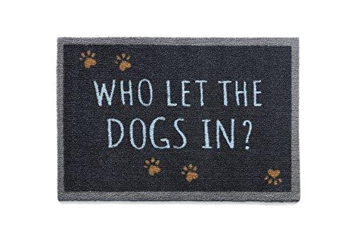 Howler & arañazos Pet (50x 75cm, diseño perros en 3