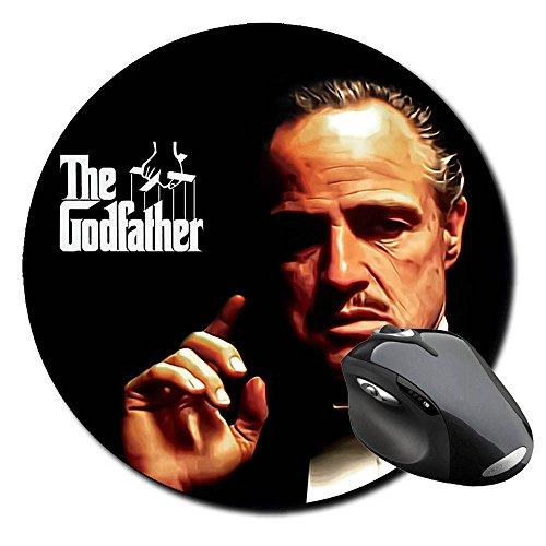 Preisvergleich Produktbild Der Pate The Godfather Marlon Brando C Badteppich rund Round Mousepad PC
