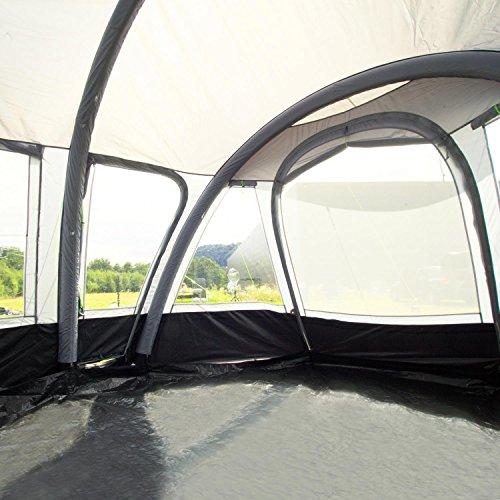 Reisevorzelt Garda-L Deluxe grau ohne Gestänge aufblasbar Berger Wohnwagen Camping Urlaub - 2