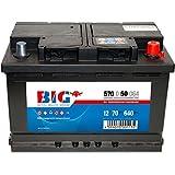 BIG Silber Ca/Ca - 12 V / 70 Ah - 640 A/EN - 57050 Autobatterie