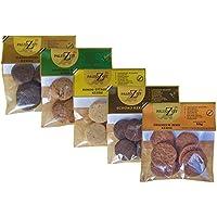 5x Paleo Kekse (5 x 50g) verschiedene Sorten glutenfreie Kekse laktosefrei getreidefrei Kohlenhydratreduziert