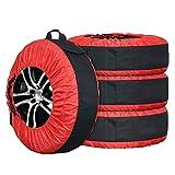 camper e utilitarie con pneumatici di qualsiasi dimensione colore nero per auto 4x4 Custodia per la ruota di scorta caravan