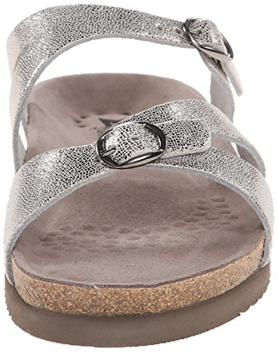 Mephisto Womens Hannel Leather Sandals Grau