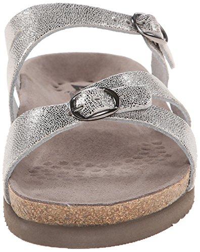 Mephisto Womens Hannel Leather Sandals Grau