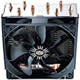 Cooler Master Hyper T4 Ventilateur de processeur '4 Heatpipes, 1x 120mm PWM Fan, 4-Pin Connector' RR-T4-18PK-R1