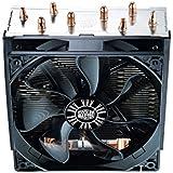 Cooler Master Hyper T4 Ventilateur de processeur '4 Heatpipes, 1x 120mm PWM Fan, 4-Pin Connector' RR-T4-18PK-R1