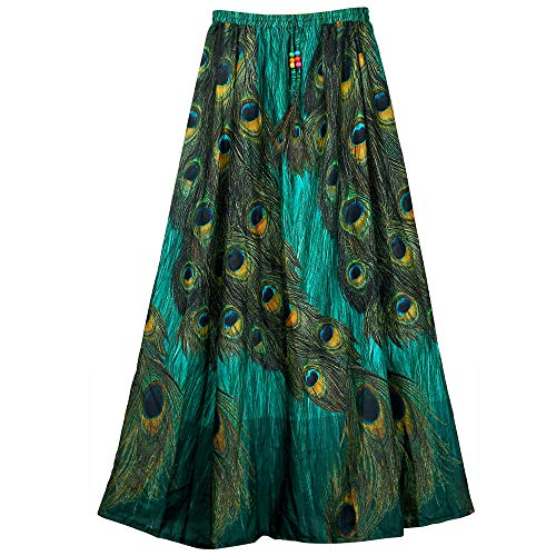 FASHION CARE Women's Royal Crepe Skirt(KCBC-21, Multicolour, 35)