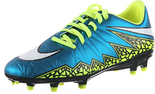 football-chaussure WMNS HYPERVNM PHLN 2 FG 744946-400 BLUE LAGOON/WHITE-VOLT-BLACK