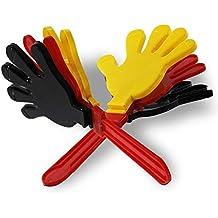 4 x XXL Handklatsche Deutschland 28cm Klapperhand Klatschhand Fanartikel WM EM
