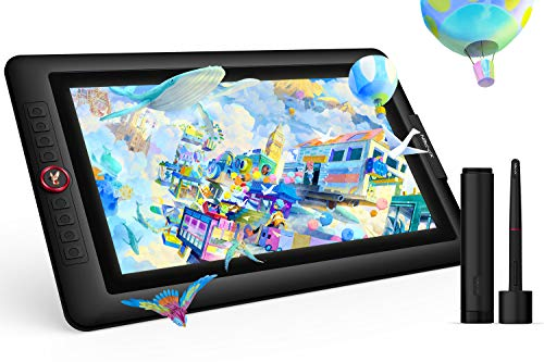 XP-PEN Artist 15.6 Pro Grafikmonitor Grafiktablett Drawing Pen Display Stift mit Tilt-Funktion 88{44221be89320676abbdce2f9e305da51adef161649119b389750c89ec1a003f6} NTSC 8 Schnelltasten und 1 Red Dial Geschenkpaket Gift Wrap (Holiday Edition)