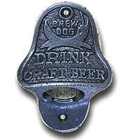 Cette fonte brewdog ouvre-bouteille a une finition naturelle authentique qui seront du plus bel effet dans tout amateur de bière maison. L'ouvre-bouteille est fabriqué grâce aux pièces d'origine ou la réplication des dessins originaux à l'aide de mét...