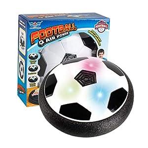 Footprintes Luz LED Intermitente Bola de Música Juguete Cojín de Aire Eléctrico Suspensión Balón de Fútbol Disco de…