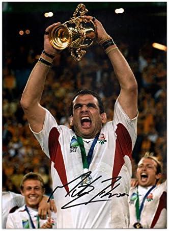 Esclusiva Foto di Martin Johnson con con con autografo di Rugby Inghilterra  Vincitore della Coppa del Mondo B06VWWDB3N Parent | Germania  | Buona reputazione a livello mondiale  | Buy Speciale  05377d
