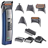 BaByliss For Men E836XE Kit Multiuso Rasatura Uomo, Ricaricabile/A rete