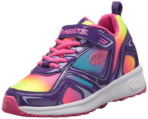 Heelys X2Rise Schuhe–Neon/Multi/Swirl, Neon Multi Swirl - Größe: 36 EU