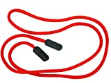 GoGrip Original - Secure Glasses Cord - Spectacle Cord and Spec Lanyard - Bright Red