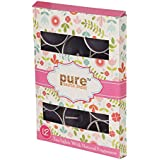 Pure Source India 12 Pcs Pack Of Scented Tea Light Candles Lavender Fragrance Smokeless ,BURN TIME 3 HRS ABOUT.