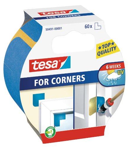tesa Malerband für Ecken, Packung mit 60 Ecken