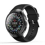 Smart Watch Runden Bildschirm Android 5.1 GPS Navigation 3G Ruft Schrittzähler Kalorien Herzfrequenz-Überwachung