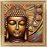5D Diamond Broderie Bouddha Peinture Stitch Bricolage Craft Home Office Decor