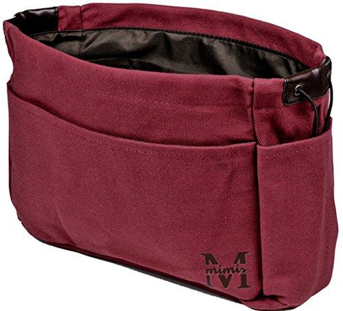 """Mimis Handtaschen Organizer aus strapazierfähigem Stoff - Robuster Taschen Organizer als praktische \""""Tasche in Tasche\"""" Lösung - Großer Innentaschen Einsatz als Organisator für maximale Ordnung"""
