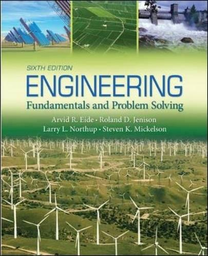 Engineering Fundamentals and Problem Solving