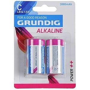 Speelgoed 51670-Batería, alcalinas C Grundig Otros Juguetes