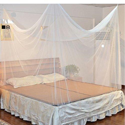 Zanzariera, grande, rettangolare, adatto per tutte le misure da letto