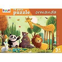 Ormanda - 24 Parça Yer Puzzle