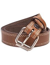 Hawkdale - Herren Gürtel aus Vollnarbenleder mit Naht-Detail - Breite 30 mm - Hergestellt in Großbritannien - # 8R-F64-400