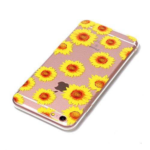 Cover iPhone 6/ 6s Plus, Sportfun morbido protettiva TPU Custodia Case in silicone per iPhone 6/ 6s Plus (modello 5) modello 4