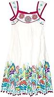 Girls Sleeveless Pasiley Dress New Kids Cotton Summer Dresses
