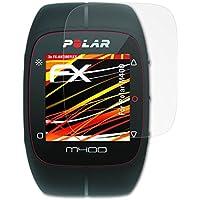 atFoliX Polar M400 Lámina Protectora de Pantalla - 3 x FX-Antireflex-HD antirreflectante de alta resolución Protector Película