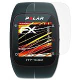 atFoliX Schutzfolie kompatibel mit Polar M400 Bildschirmschutzfolie, HD-Entspiegelung FX Folie (3X)