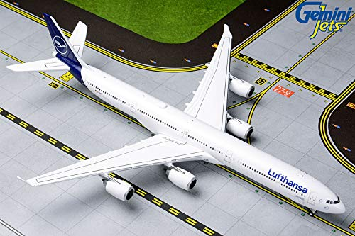 Gemini Jets Lufthansa Airbus A340-600 Scale 1:400 | Neue Lufthansa LACKIERUNG | (Modell Jet)