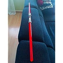 Espada de doble láser con luz y sonido