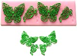 Silicone Butterfly Lace Fondant Embossing Dies Cake Decorating /Sugarcraft Moulds