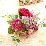 Aoligei Lu Lian Hydrangea Blumensträuße Blumensträuße Simulation Blumen Haus Dekoration Hochzeit gefälschte Blumen 38cm