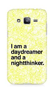 AMEZ daydreamer and night thinker Back Cover For Samsung Galaxy J2