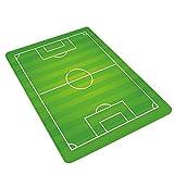 JYCRA Kids Childrens Football Field rug Mat, Design Moderno, Antiscivolo Tappeto da Gioco Morbido Tappeto Verde, Poliestere, Type 3, 60x180cm