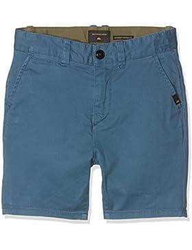 Quiksilver krandywyt pantalón Corto para niño, Niño, Krandywyt, Indian Teal, FR : 16 ANS (Taille Fabricant : Taille...