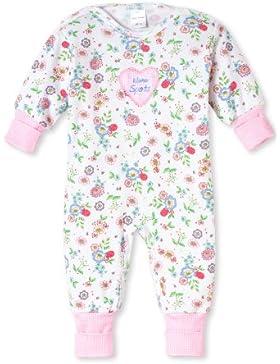 Schiesser Baby Schlafanzug 142358, weiss, 62