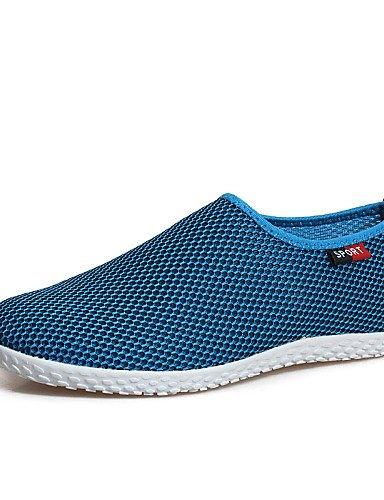 ZQ gyht Scarpe Donna-Mocassini-Tempo libero / Casual-Comoda-Piatto-Tulle-Rosso / Grigio / Royal Blue , royal blue-us6.5-7 / eu37 / uk4.5-5 / cn37 , royal blue-us6.5-7 / eu37 / uk4.5-5 / cn37 gray-us6 / eu36 / uk4 / cn36