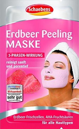 Image of Schaebens Erdbeer Maske, 15er Pack (15 x 12 ml)