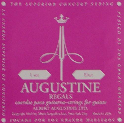 Augustine Regals Blue Konzertgitarre High Tension Saiten Set