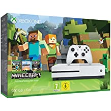 Microsoft Xbox One S 500GB Minecraft Console Bundle